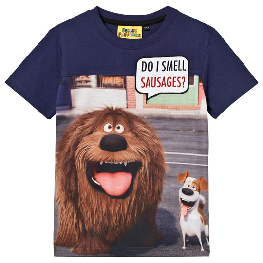Fabric Flavours Do I Smell Sauasages T-shirt Navy