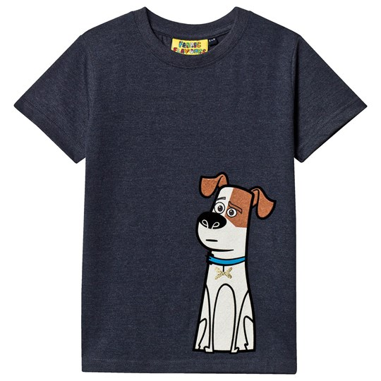 Fabric Flavours Max Pets Tee Navy