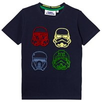Fabric Flavours Rogue One Tuft Trooper Short Sleeve Tee Navy