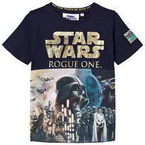 Fabric Flavours Rogue One Foil Poster Print Tee Black