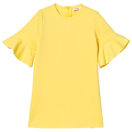 Il Gufo Yellow Petal Sleeve Milano Dress 213