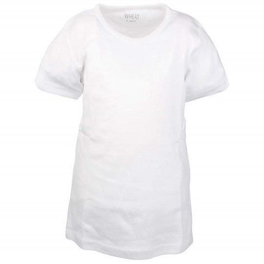 Wheat Basic T-shirt White White