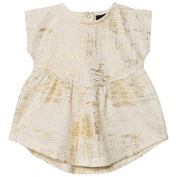 Petit by Sofie Schnoor Dress Off-White Gold