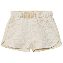 Petit by Sofie Schnoor Shorts Off-White Gold