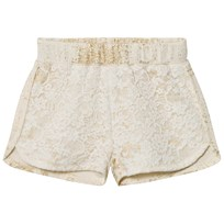 Petit by Sofie Schnoor Shorts Off-White Gold Off-white/gold
