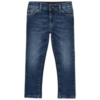 Dolce & Gabbana Blue Mid Wash Slim Fit Jeans B9110