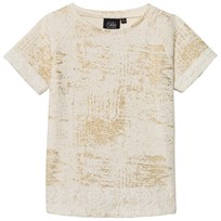 Petit by Sofie Schnoor T-Shirt Off-White Gold Off-white/gold