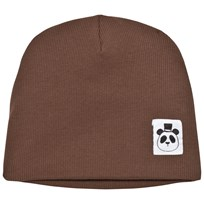 Mini Rodini Solid Rib Beanie Brown BROWN