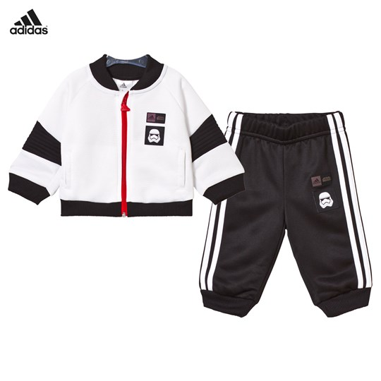 adidas Performance Star Wars Tracksuit Svart Vit White