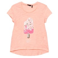IKKS Pink Sequin Ice Lolly Tee 78