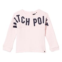 IKKS Bouclette Match Point Print Sweater Pale Pink 31