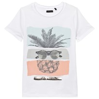 IKKS White Pineapple Sunglasses Print Tee 01