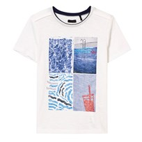 IKKS White Pool Print Tee 19