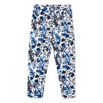 IKKS Blue Floral Print Trousers 01