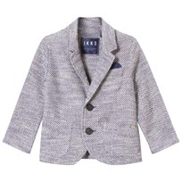 IKKS Grey Textured Blazer 48