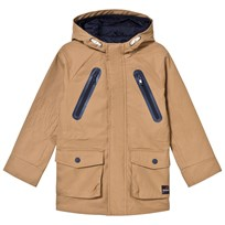 IKKS Camel Hooded Parka with Back Print 62