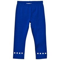 Simonetta Leggings with Diamante Detail Blue GE260 G13