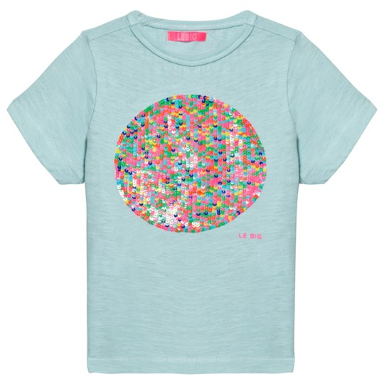 Le Big Mint Sequin Circle Elwanda Tee 608