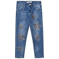 Relish Blue Star Detail Denim Jeans 851
