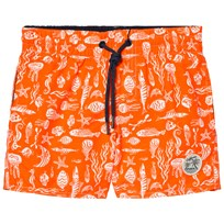 Oneill Red Thirst For Surf Swim Shorts RED AOP