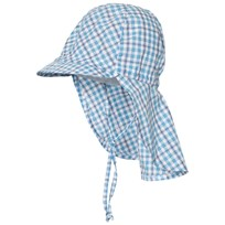 Maximo Hat with Neck Flap Blue Blue