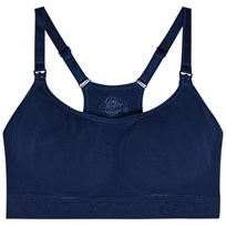 Cake Lingerie Cotton Candy Racerback Sömlös Amnings-BH Marinblå Navy