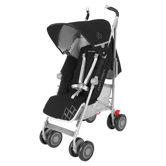 Maclaren Techno XT Black/Silver Sort