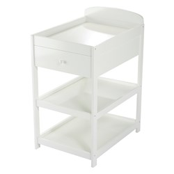Baby Dan Alfred Changing Table White