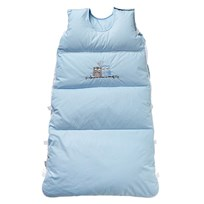 Baby Dan Love Birds Snuggle Bag Blue Sand