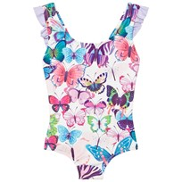 Hatley Purple Butterflies Print Suimsuit Purple