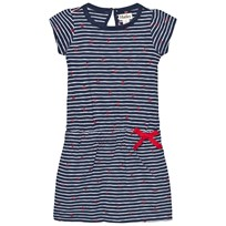 Hatley Navy Stripe Anchor Dress Navy