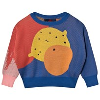 The Animals Observatory Bull Sweater Navy Blue Blue