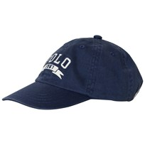Ralph Lauren Blue Polo Applique Cap 002