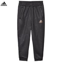 adidas Black Football Silo Tracksuit Bottoms UTILITY BLACK