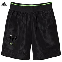 adidas Black Messi Shorts Black