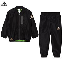 adidas Black Messi Tracksuit Black