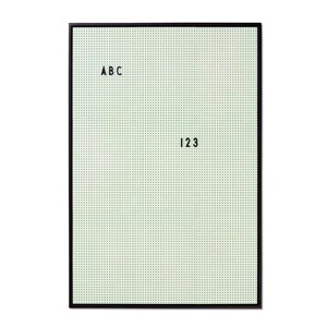 Image of Design Letters Message Board A2 Mint Green (2756997217)