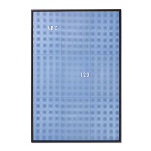 Image of Design Letters Message Board A2 Blue (2962704199)