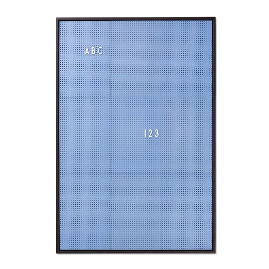 Design Letters Message Board A2 Blue Blue