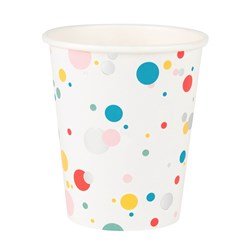 My Little Day 8 Paper Cups - Multicolored Bubbles