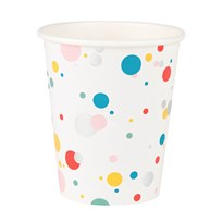 My Little Day 8 Paper Cups - Multicolored Bubbles Multicolor bubbles