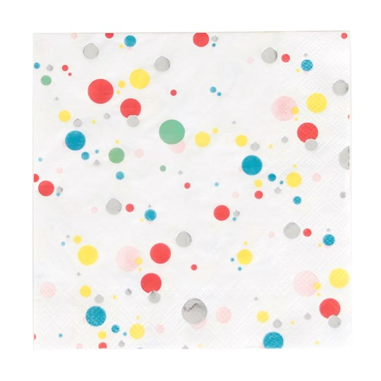 My Little Day 16 Paper Napkins - Multicolored Bubbles Multicolor bubbles
