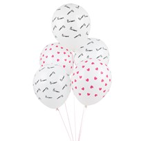 My Little Day 5 Printed Balloons - Bisou Bisou
