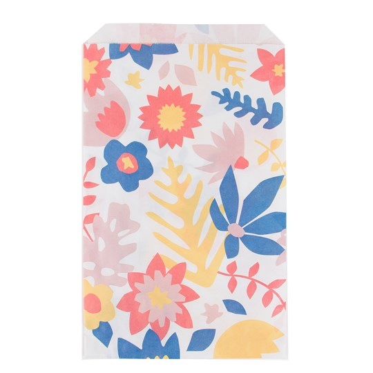 My Little Day 10 Paper Bags - Tropical Flowers tropical flowers