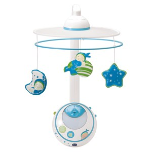 Image of Chicco Magic Stars Cot Mobile Blue (3065504281)