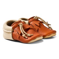 Mini Mocks Fox Moccasin Calvados And Beige