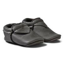 Mini Mocks Monk Moccasin Charcoal