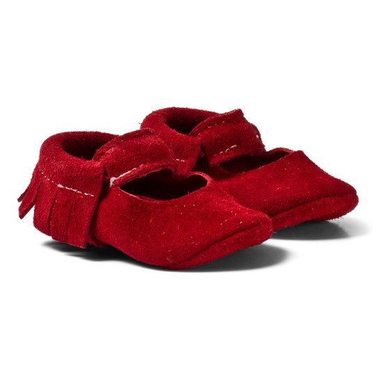 Betón Cherry Sandal Red Suede
