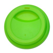 Rice Silicone Lid Latte Cups Green Green
