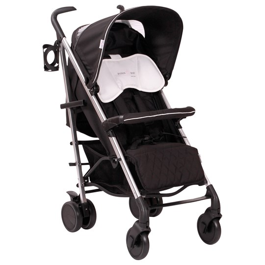 Basson Baby Pico Quilted Stroller Black Black